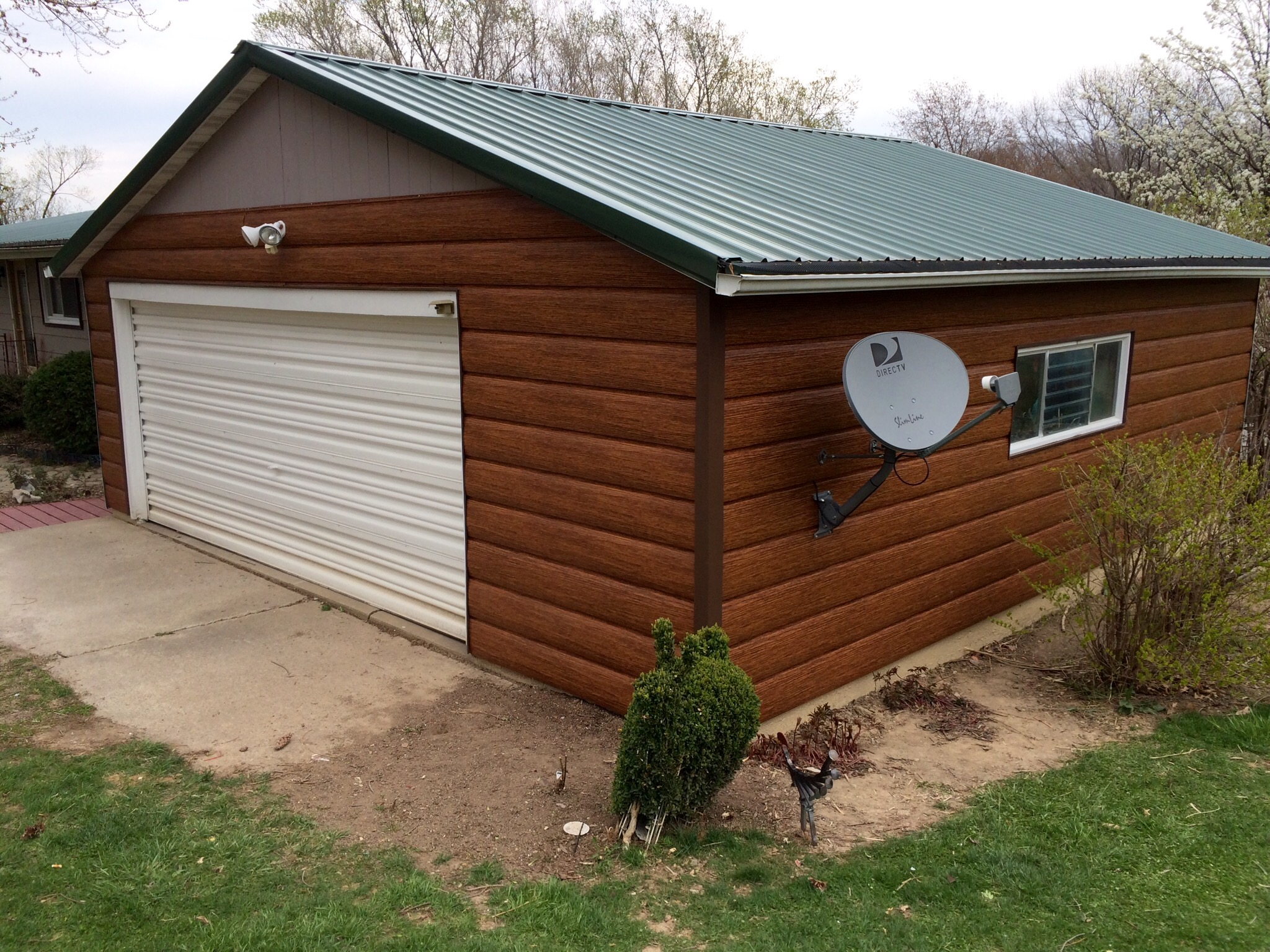 Red Cedar Steel Log Siding Tru Log Siding