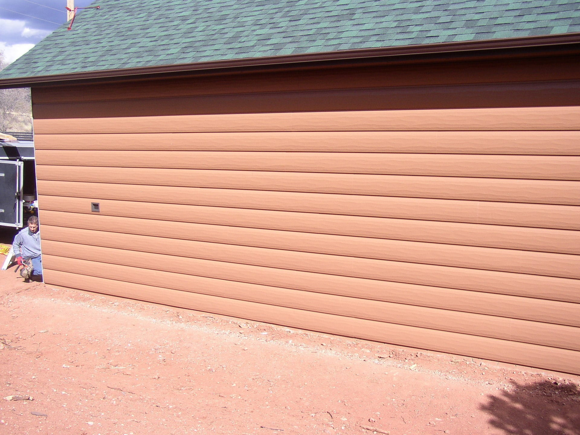 Manitou Springs Colorado Cedar Tru Log Siding