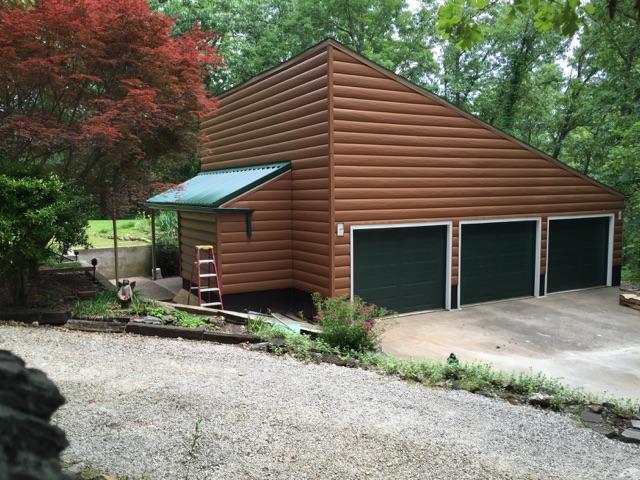 Rogersville Missouri Cedar Tru Log Siding