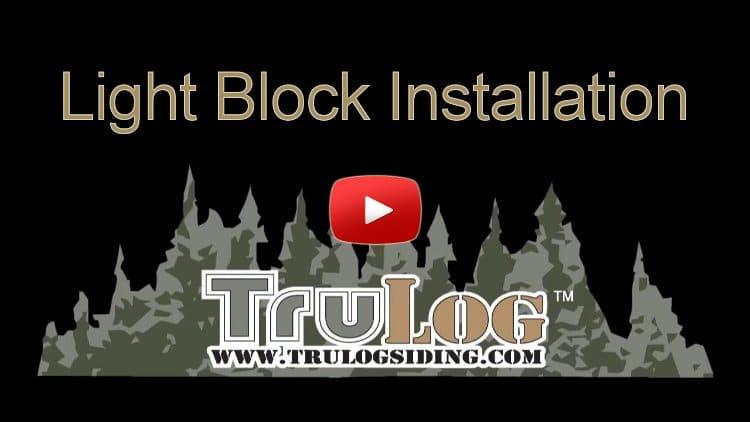 Light Block Installation