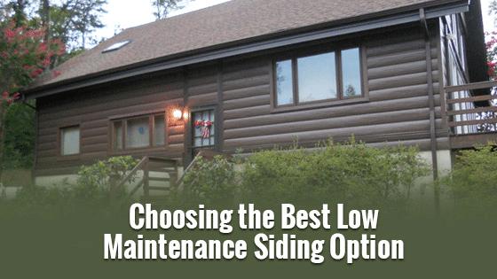 Choosing the Best Low Maintenance Siding Option