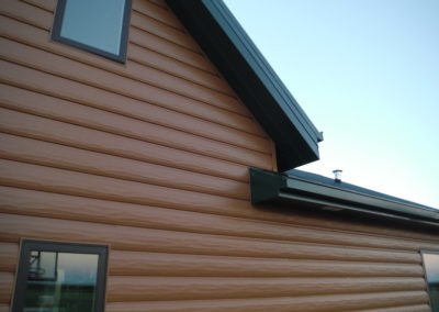 This is a job we shipped to NM and it has our cedar siding & cedar accessories
