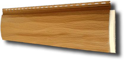 maintenance free log siding