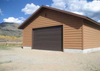 This is a job we shipped to WY that has our cedar siding & accessories