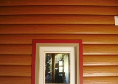 Job we shipped to WY. It is our cedar siding and canyon red accessories
