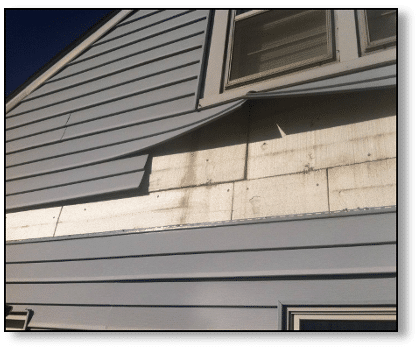 More Hail Damaged Vinyl Siding