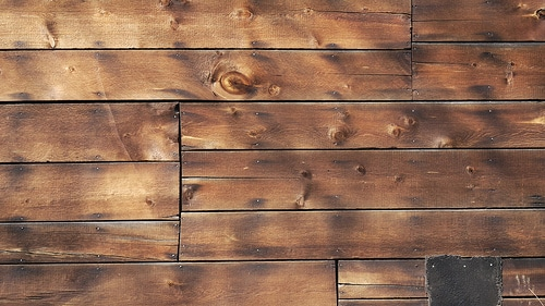 Fake Log Siding
