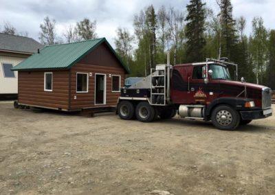 Alaska Container Cabin