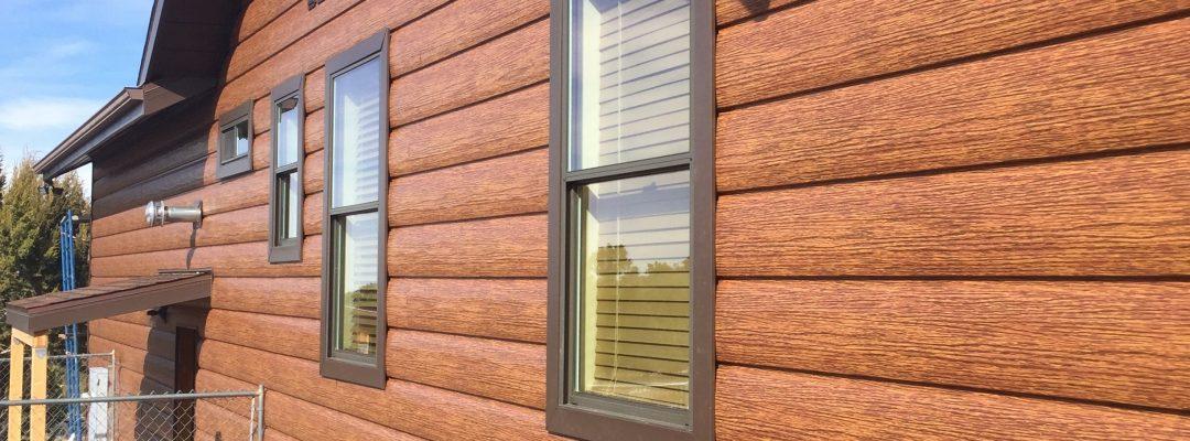 Cedar Log Siding Log Home Siding Steel Siding That