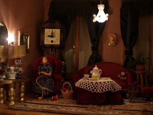 Miniature Log Cabins Are Rustic Hideaways For Dolls Tru Log Siding
