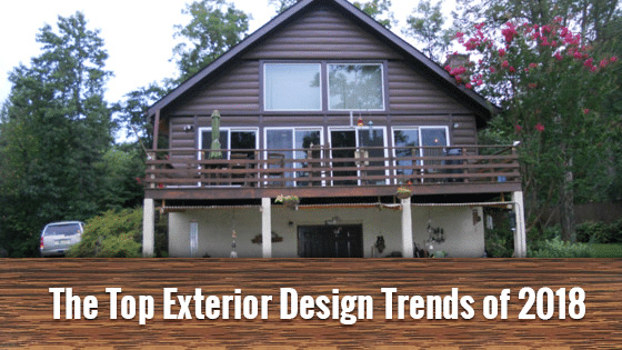 The Top Exterior Design Trends Of 2018