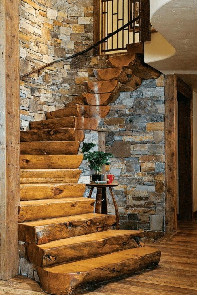 Log Cabin Home Décor Ideas 10