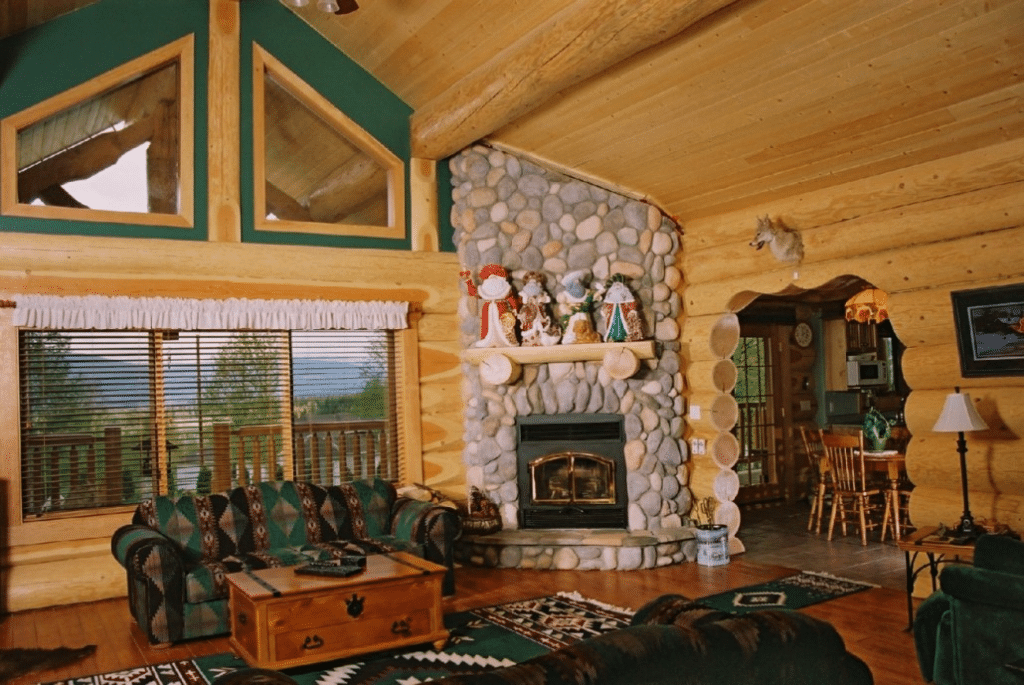 Nice Log Cabin Home Décor Ideas 15