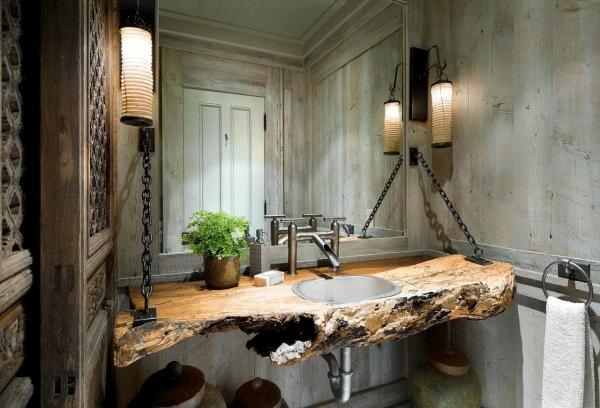 Log Cabin Home Décor Ideas 16