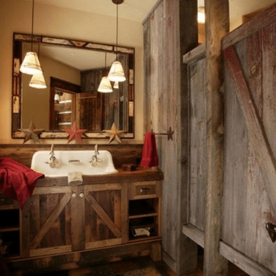 Log Cabin Home Décor Ideas 17