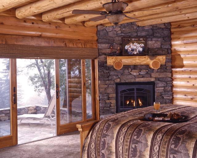 Log Cabin Home Décor Ideas 18