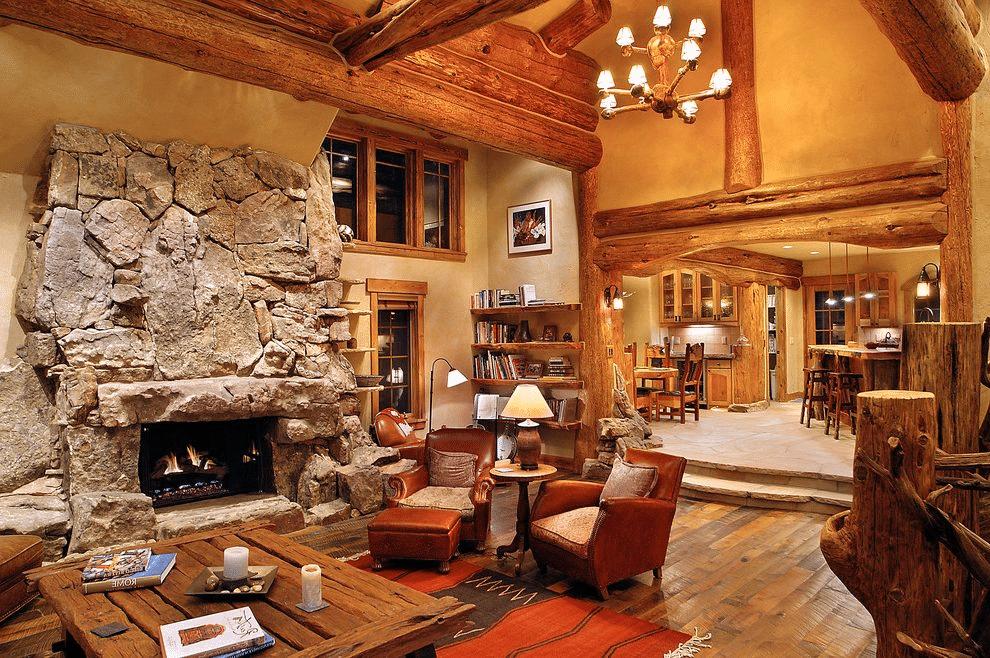 Log Cabin Home Décor Ideas 19