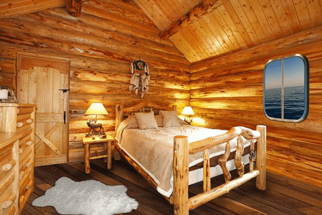 Rustic Log Home Decor: 19 Log Cabin Home Décor Ideas
