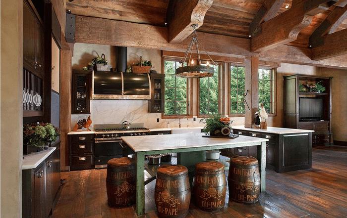 Log Cabin Home Décor Ideas 4
