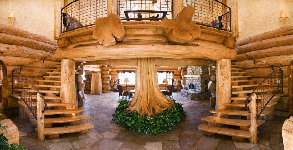 Log Cabin Home Décor Ideas 5