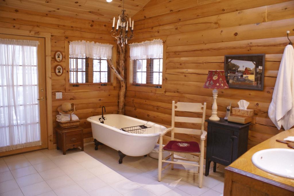 Log Cabin Home Décor Ideas 6