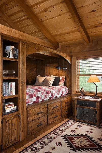 Log Cabin Home Décor Ideas 7