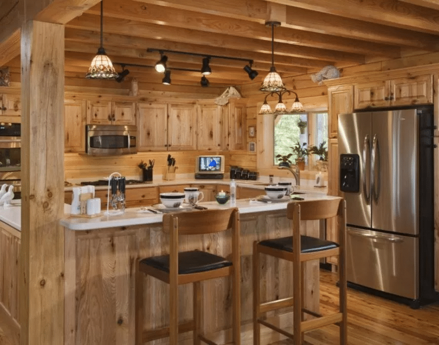 Log Cabin Home Décor Ideas 8
