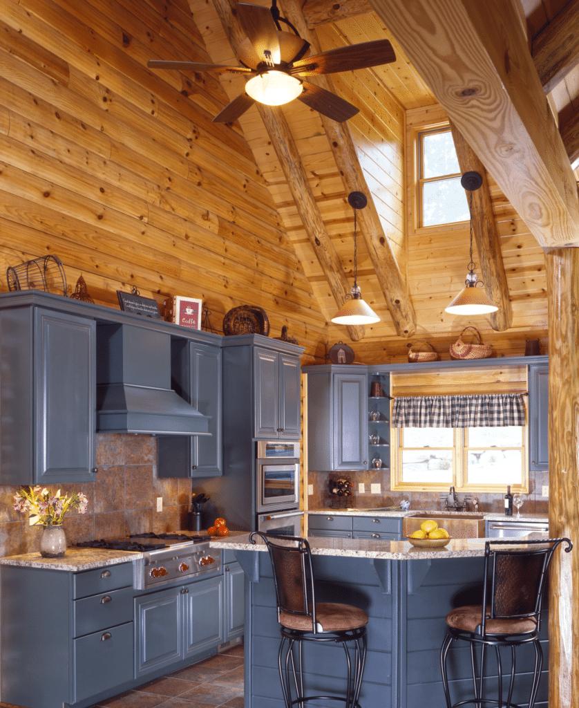 19 Log Cabin Home Decor Ideas