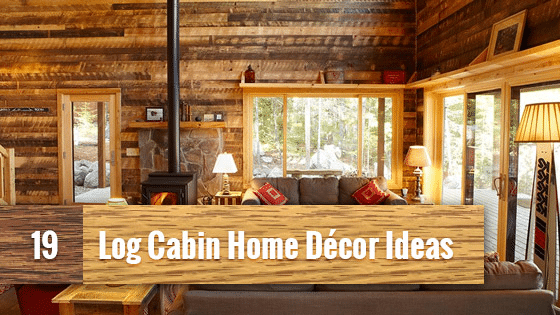 19 log cabin home d cor ideas rh trulogsiding com Log Cabin Fireplaces Log Cabin Fireplaces