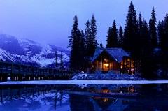 romantic cabin photo