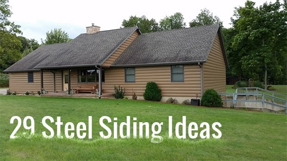29 Stunning Steel Siding Design Ideas