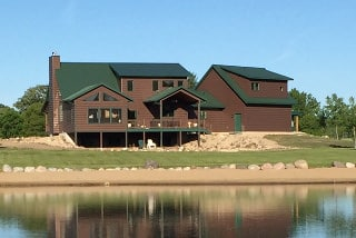 Minnesota Log Home