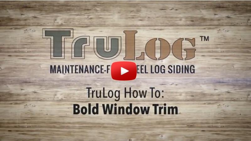 Bold Window Trim Installation