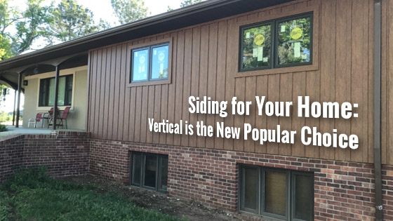 Vertical Steel Siding The New Popular Choice For Homes