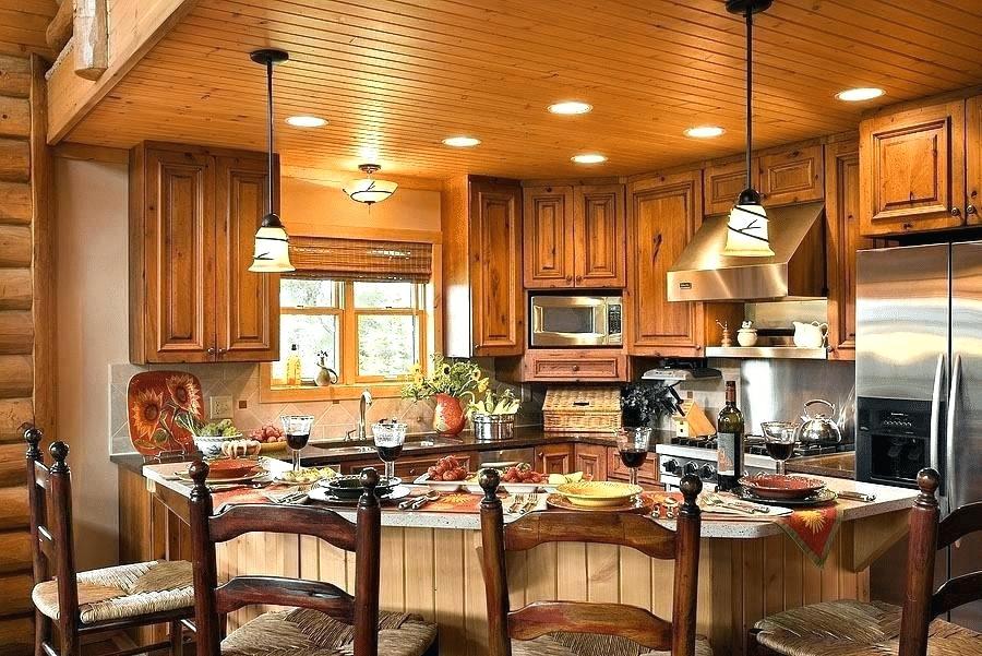 Log Cabin Kitchen Design 6