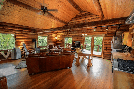 Log Cabin Flooring 1