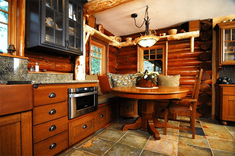 Log Cabin Flooring 5