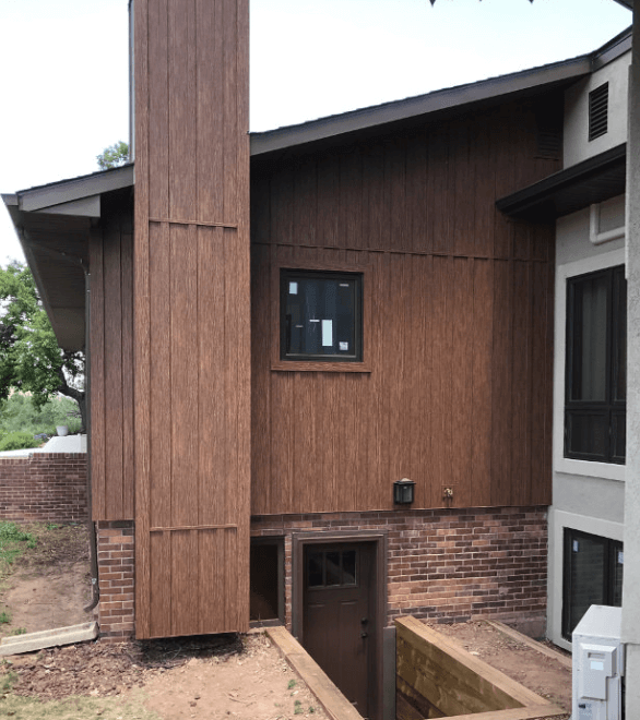 steel board batten siding