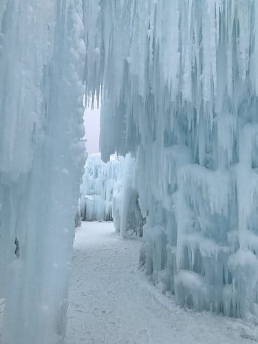 ice castle photo