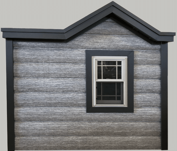 Distressed Wood Siding Alternative