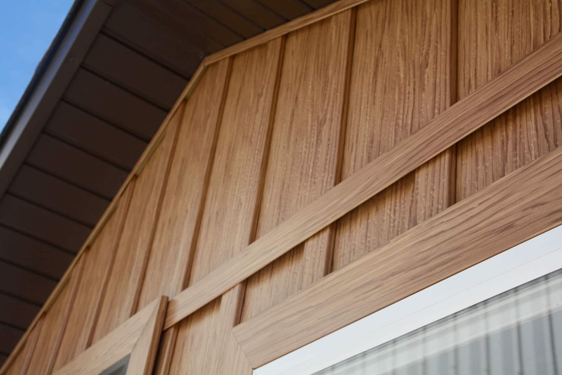 Board Amp Batten Gallery Tru Log Siding