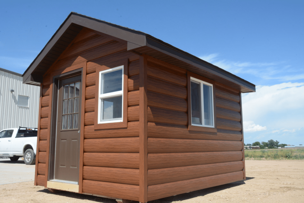Manufactured Homes that Look Like Log Cabins 2