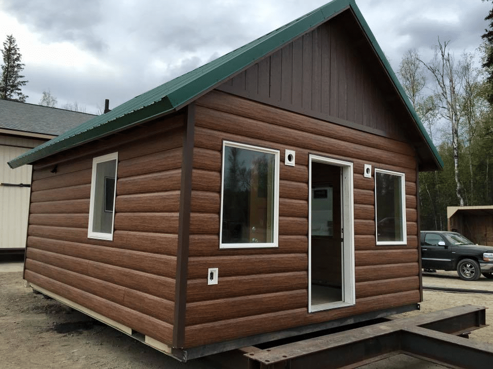 Manufactured Homes that Look Like Log Cabins 3