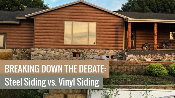 Breaking Down the Debate: Steel Siding vs. Vinyl Siding