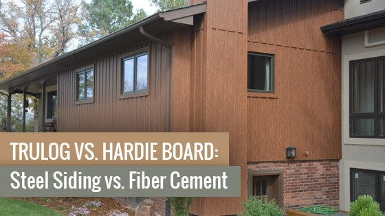 TruLog vs. Hardie Board: Steel Siding vs. Fiber Cement