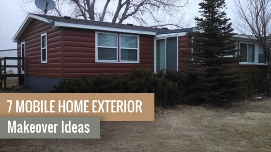 7 Mobile Home Exterior Makeover Ideas