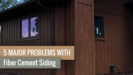 5 Major Problems with Fiber Cement Siding
