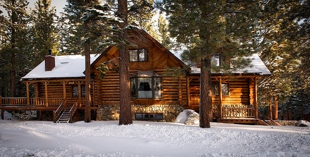 log cabin photo