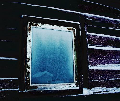 frosty window photo