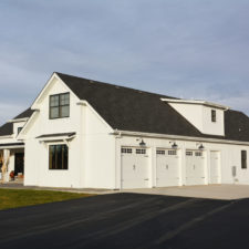 White Board & Batten Modern Farmhouse